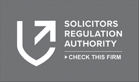We are approved by the Solicitors Regulation Authority