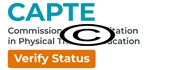 CAPTE Accreditation Verified logo.